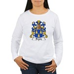 Brune Family Crest Women's Long Sleeve T-Shirt