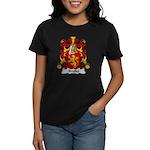 Brullet Family Crest Women's Dark T-Shirt