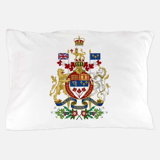 Canada's Coat of Arms Pillow Case