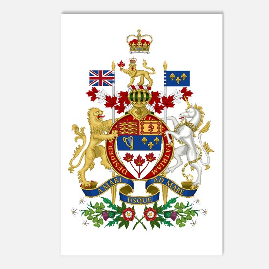 Canada's Coat of Arms Postcards (Package of 8)
