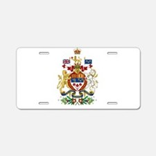Canada's Coat of Arms Aluminum License Plate
