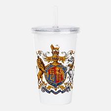British Royal Coat of Acrylic Double-wall Tumbler