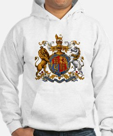 British Royal Coat of Arms Hoodie Sweatshirt