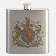 British Royal Coat of Arms Flask