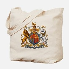 British Royal Coat of Arms Tote Bag
