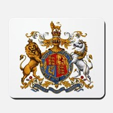 British Royal Coat of Arms Mousepad