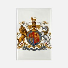 British Royal Coat of Arms Rectangle Magnet