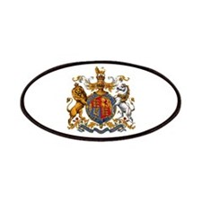 British Royal Coat of Arms Patch