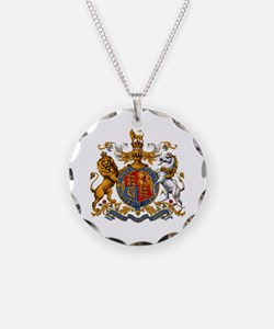 British Royal Coat of Arms Necklace