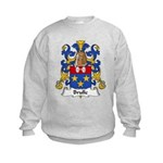 Brulle Family Crest  Kids Sweatshirt