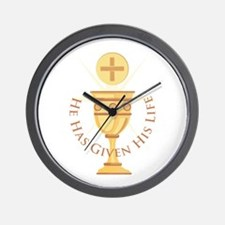 Given His Life Wall Clock