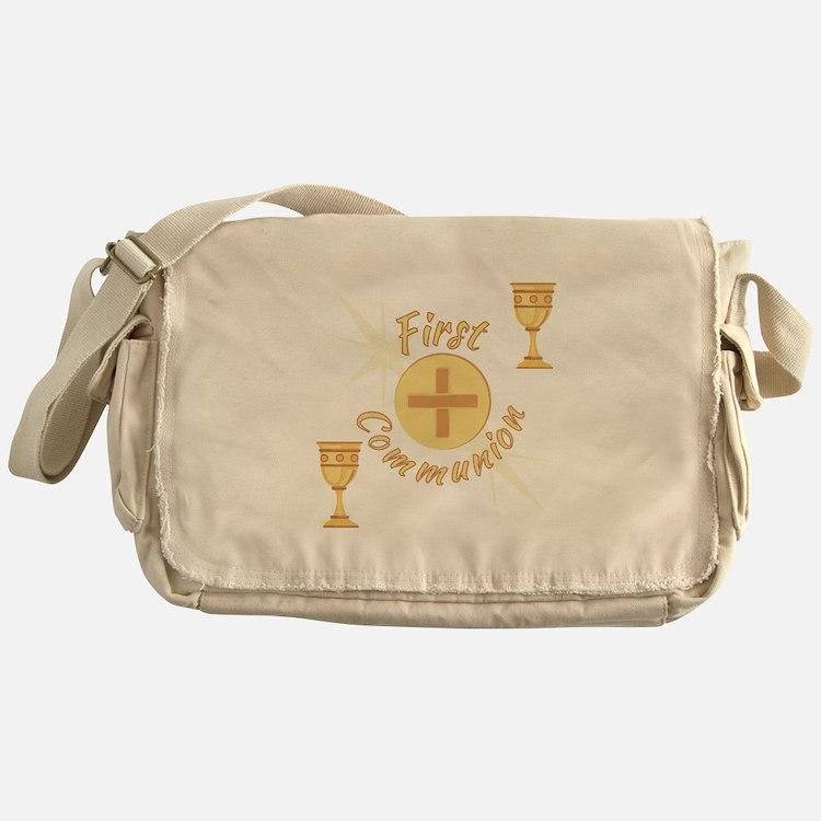 First Communion Messenger Bag