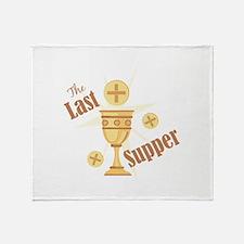 Last Supper Throw Blanket