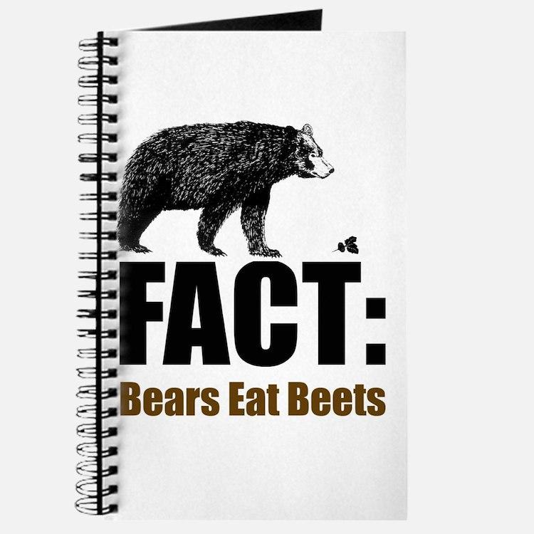 Fact: Bears eat beets Journal