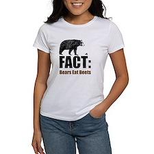 Fact: Bears eat beets Tee