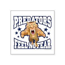 "Diego Predators Square Sticker 3"" x 3"""