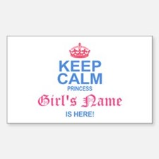 Princess is Here Decal