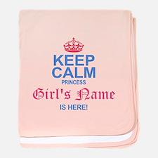 Princess is Here baby blanket
