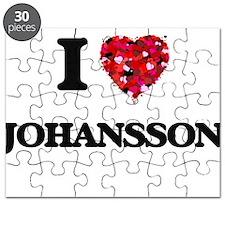 I Love Johansson Puzzle
