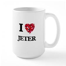 I Love Jeter Mugs