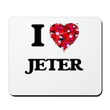 I Love Jeter Mousepad