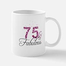 75 and Fabulous Mugs