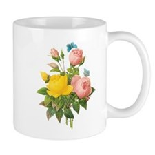 Vintage Tea Roses by Redoute Mugs