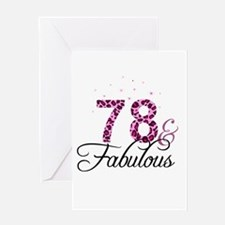 78 and Fabulous Greeting Cards