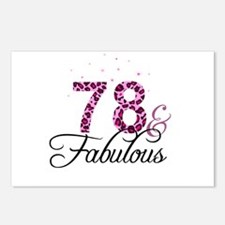 78 and Fabulous Postcards (Package of 8)