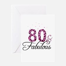 80 and Fabulous Greeting Cards