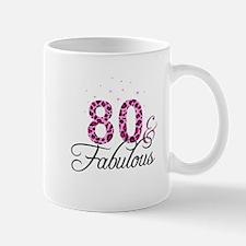 80 and Fabulous Mugs