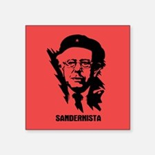 "Sandernista Square Sticker 3"" x 3"""