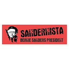 Sandernista Car Sticker