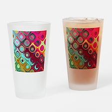 Megafunky Rainbow patterns Drinking Glass