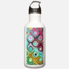 Megafunky Rainbow patt Sports Water Bottle