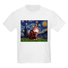 Starry Maine Coon T-Shirt