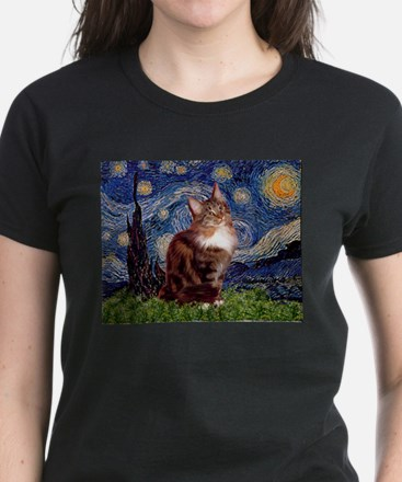 Starry Maine Coon Tee