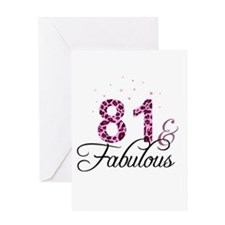 81 and Fabulous Greeting Cards