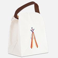 Stilt Walker Canvas Lunch Bag