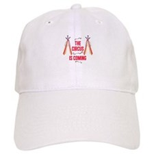 The Circus Is Coming Baseball Baseball Cap