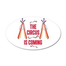 The Circus Is Coming Wall Decal