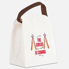 The Circus Is Coming Canvas Lunch Bag