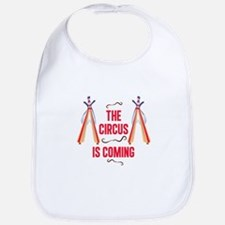The Circus Is Coming Bib