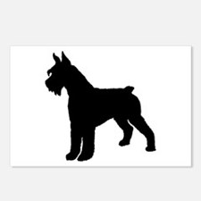 Giant Schnauzer Dog Postcards (Package of 8)