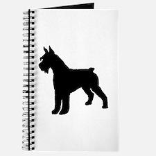 Giant Schnauzer Dog Journal