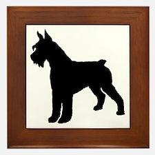 Giant Schnauzer Dog Framed Tile