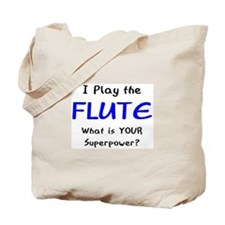 play flute Tote Bag