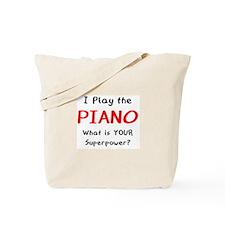 play piano Tote Bag