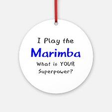 play marimba Ornament (Round)