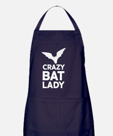 Crazy Bat Lady Apron (dark)